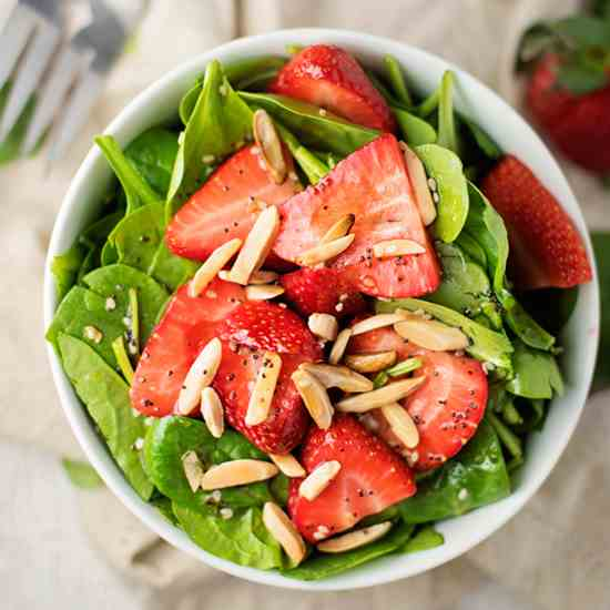 Best-Ever Strawberry Spinach Salad