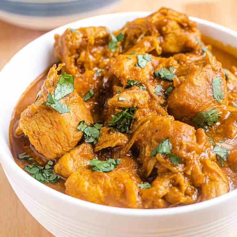 Instant Pot Pumpkin Chicken Curry