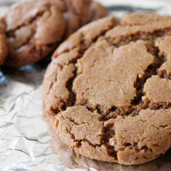 Vegan Blackstrap Molasses Cookies