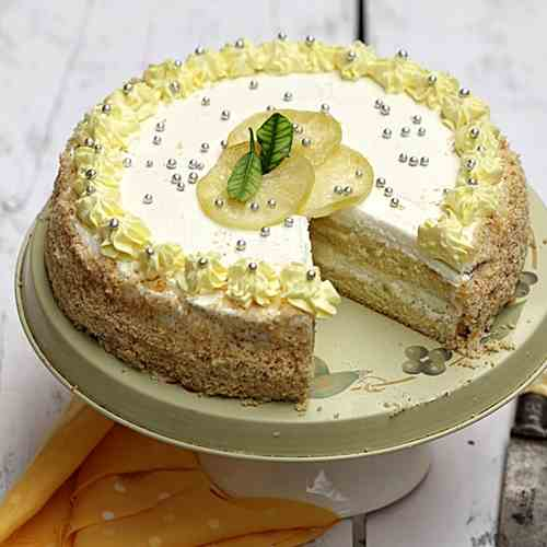 Lime 'n Lemon Quark Cream Cake