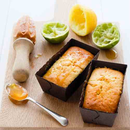 Golden Syrup and Lime Cakes