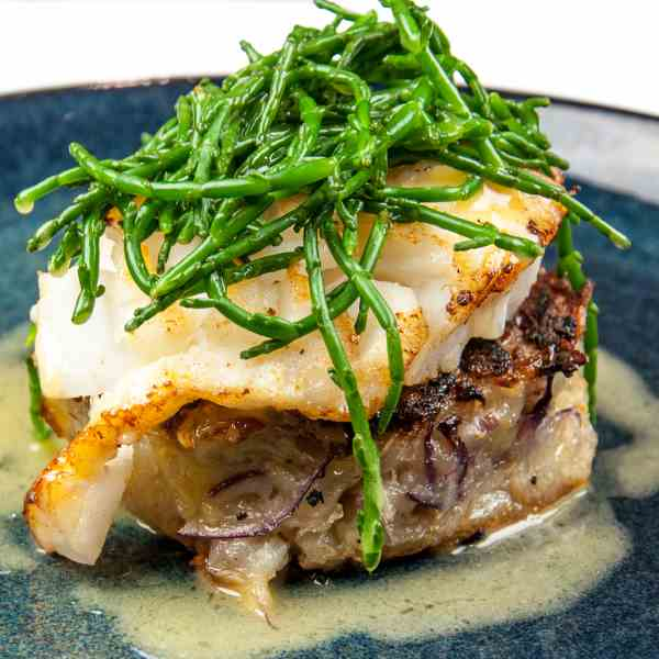 Pan Fried Cod with Classic Beurre Blanc
