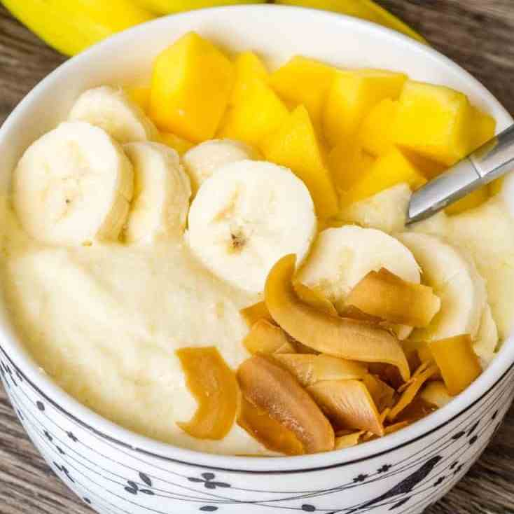 Mango Whipped Cottage Cheese