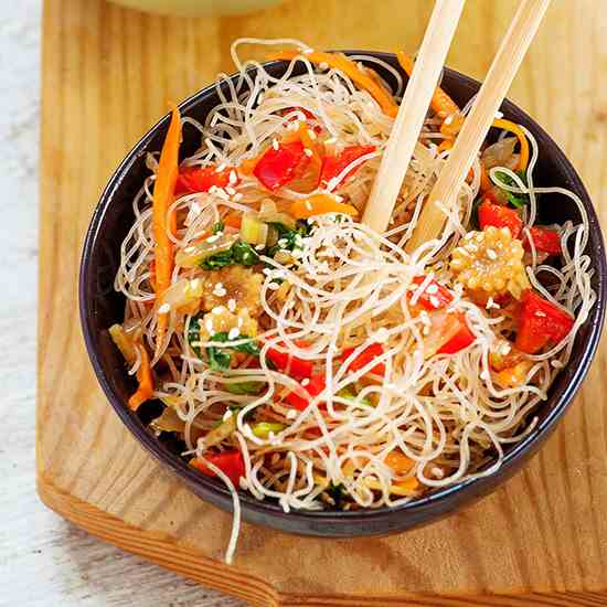 Vegan Chow Mein - Quicker than delivery