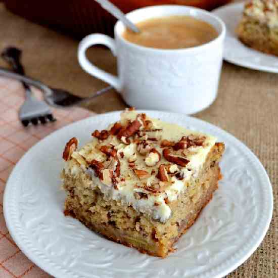 HONEY BANANA CAKE