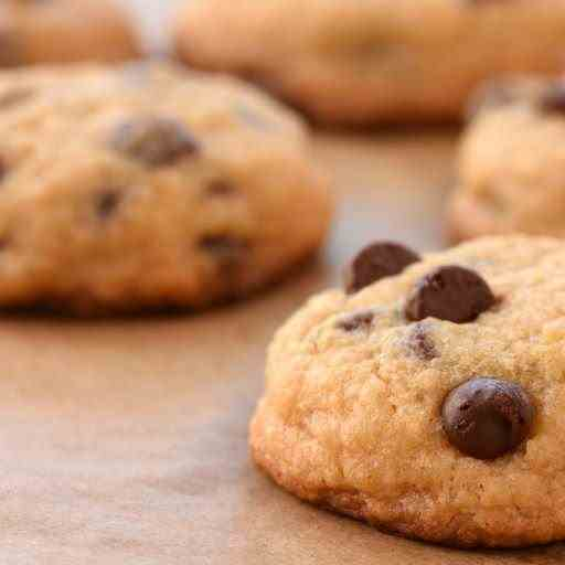 Airfryer Dark Chocolate Chunk Cookies