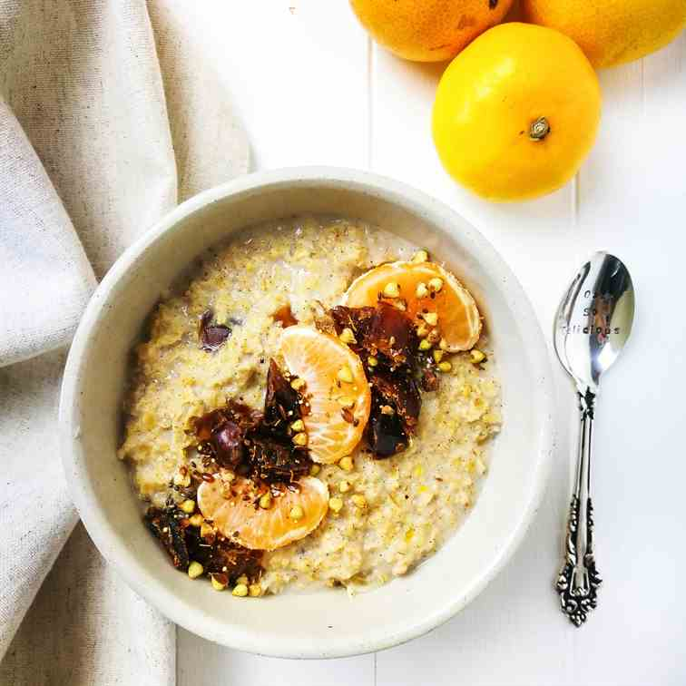 Spiced Orange - Date Porridge