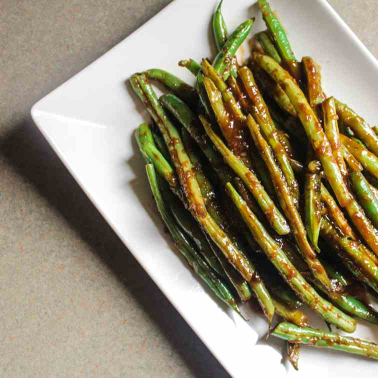 Green Beans in Black Bean Sauce