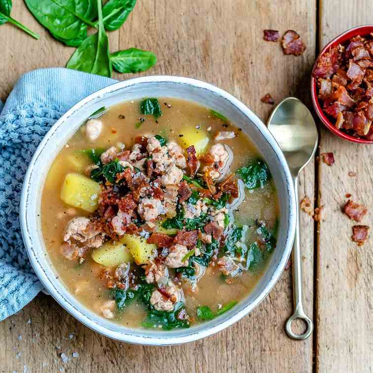 Whole30 Zuppa Toscana (Tuscan Soup)