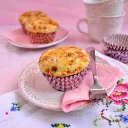 Apple Custard Muffin