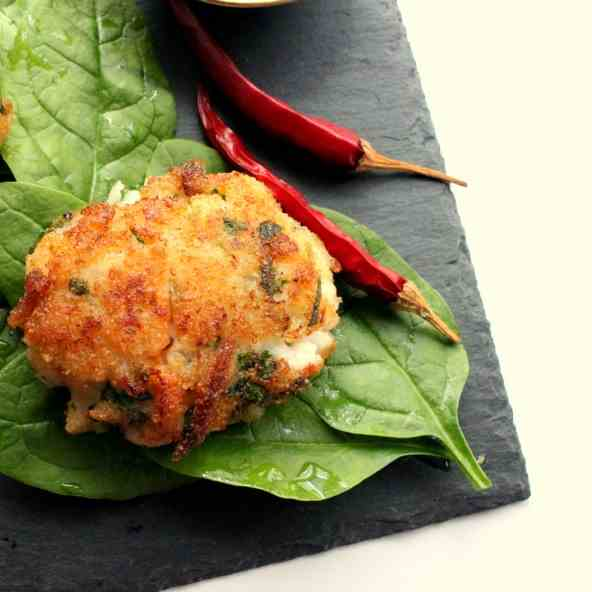 Crab and Fish Cakes