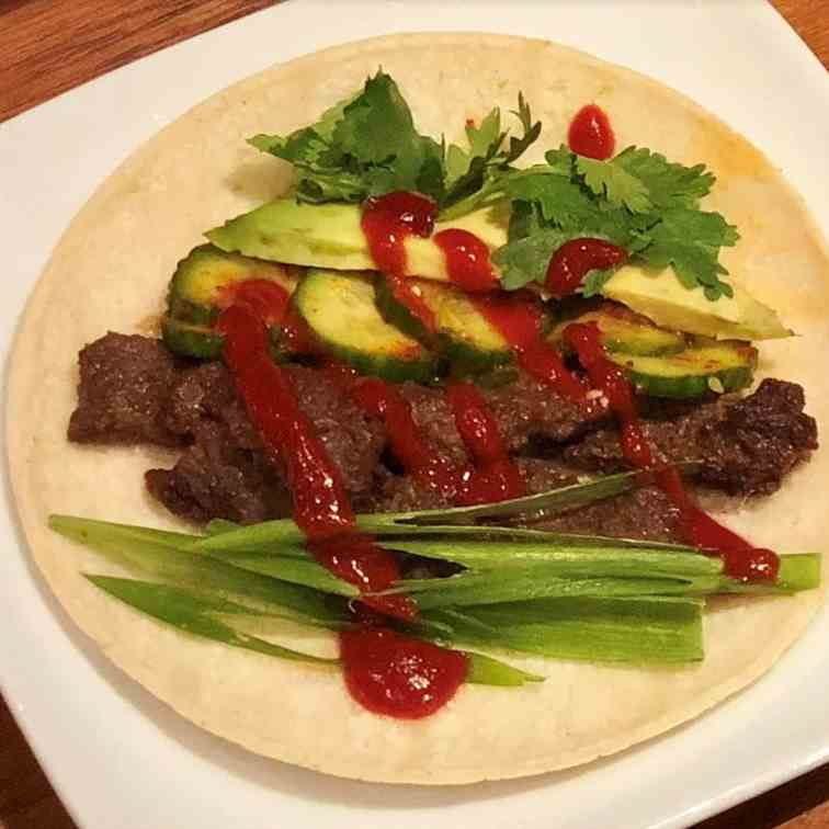 The Joon Ma Korean Bulgogi Tacos