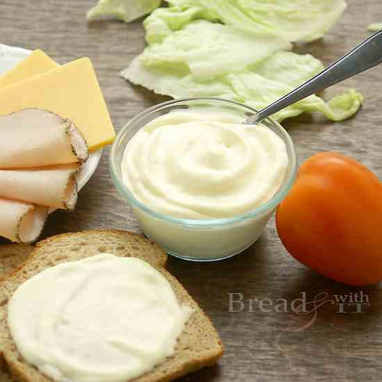 Traditional Mayonnaise w/Olive Oil