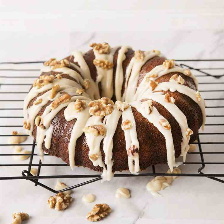 Walnut Butter Cake