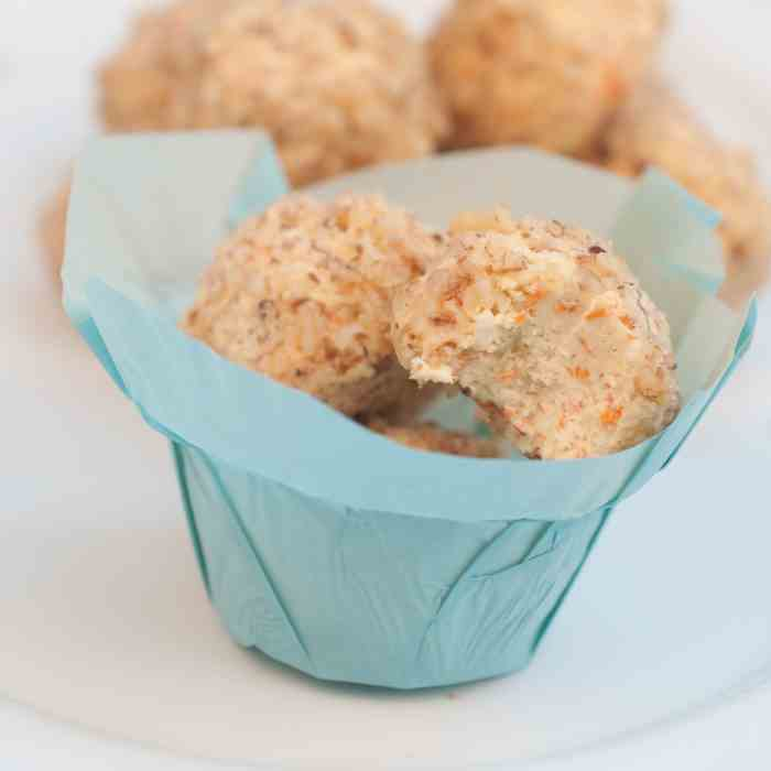 Carrot Cake Cheesecake Bites