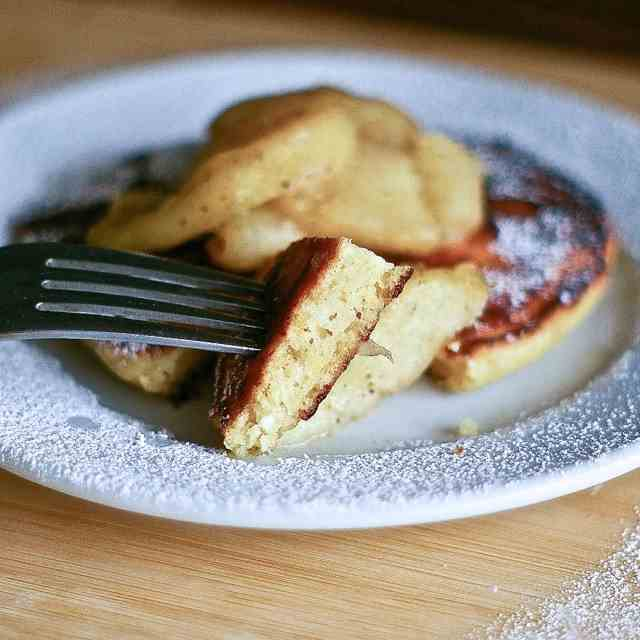 Brown Butter Ricotta Pancakes