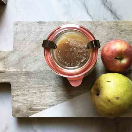 Quick and Easy Apple Pear Sauce