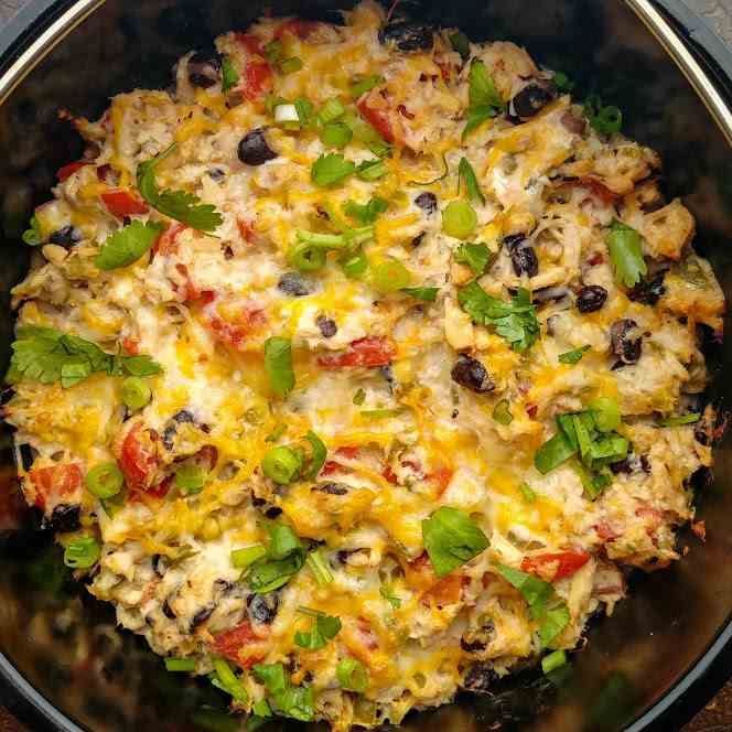 Tuna and Black Bean Bake