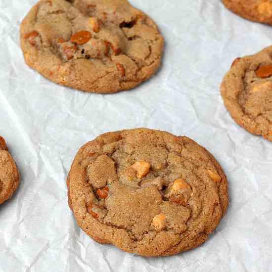 Cinnamon Butterscotch Cookies