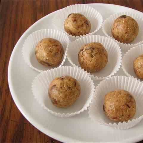 "PB Chocolate Cookie Dough ""Truffles"""