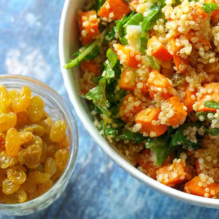 Roasted Sweet Potato - Quinoa Salad
