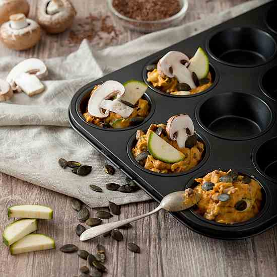 Savory Sweet Potato Muffins