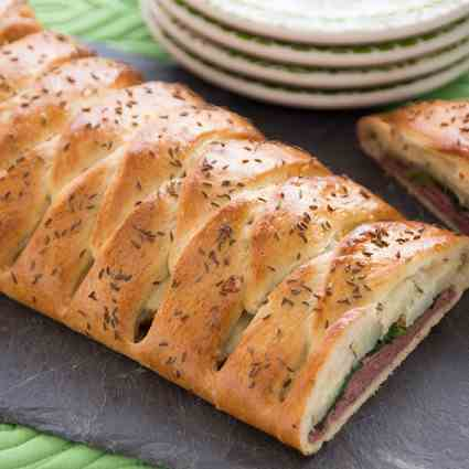 Corned Beef Braid