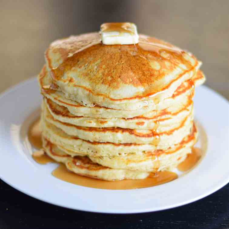 The Secret to Perfect Buttermilk Pancakes