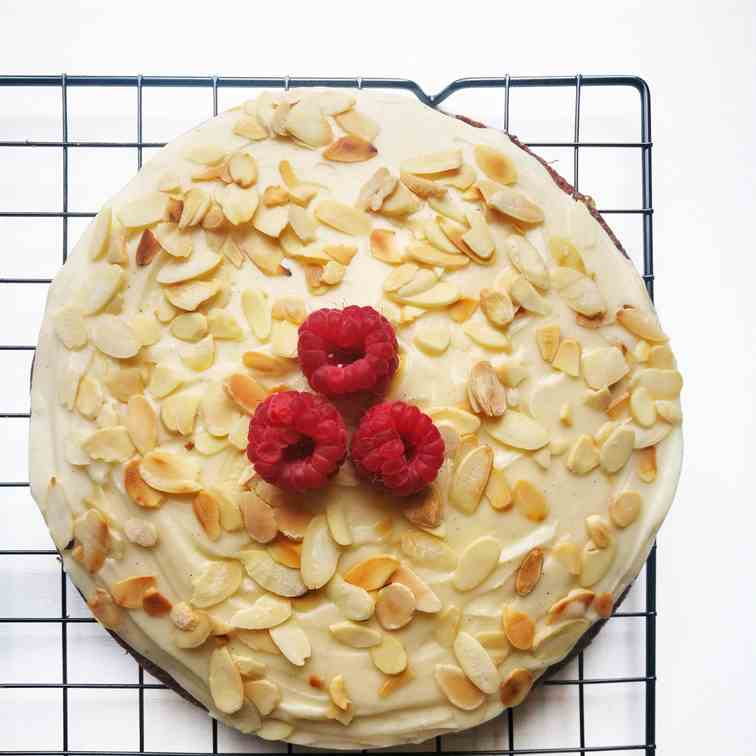 Almond Yogurt Cake