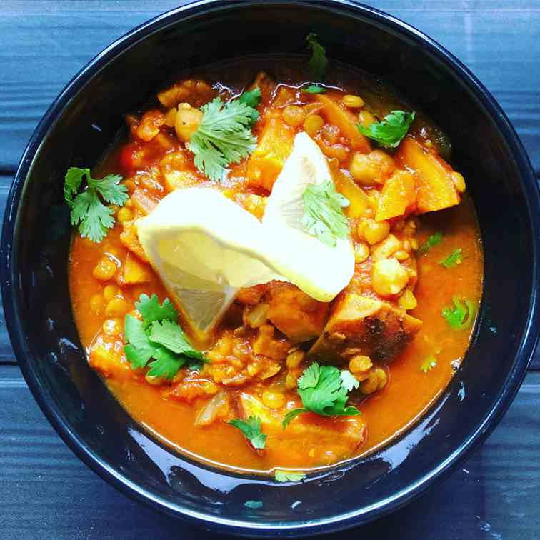 Vegan Sweet Potato Stew