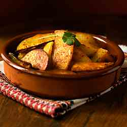 Spicie Roasted Potatoes (Vegan)