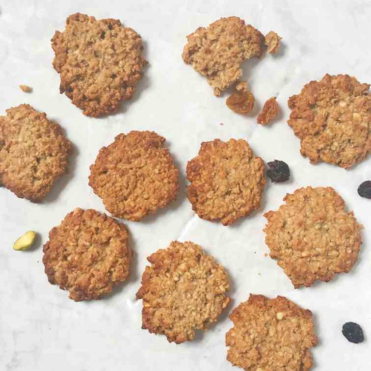 Healthy Peanut Butter Vegan Biscuit