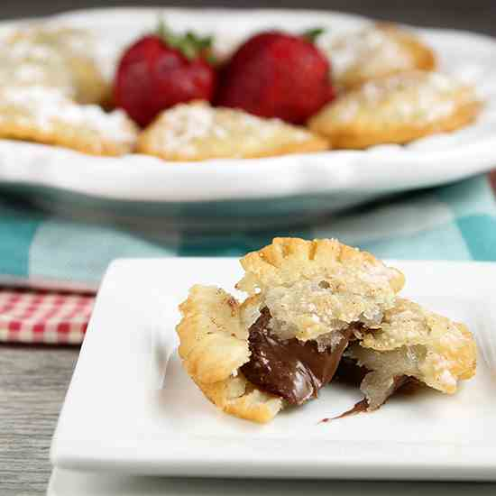 Fried Nutella Hand Pies