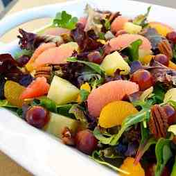 Citrus Salad and Mixed Greens