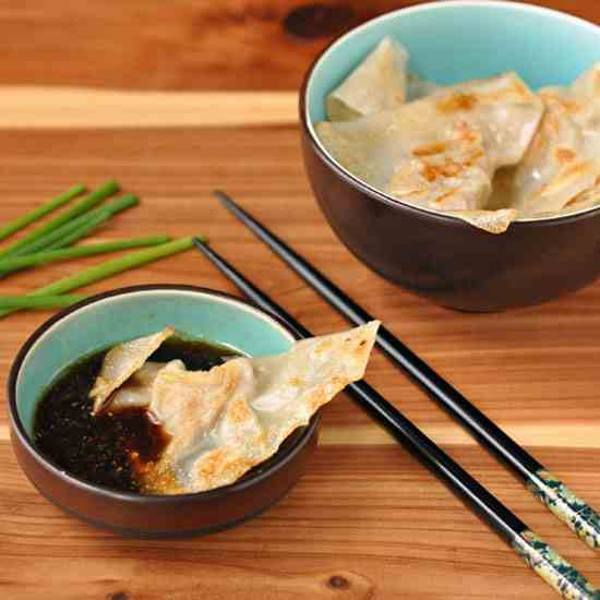 Pork and Chive Pot Sticker