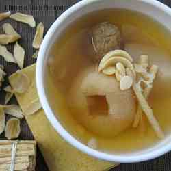 Moisturizing Asian Pear Herbal Soup