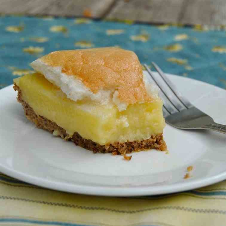Paleo Lemon Meringue Pie