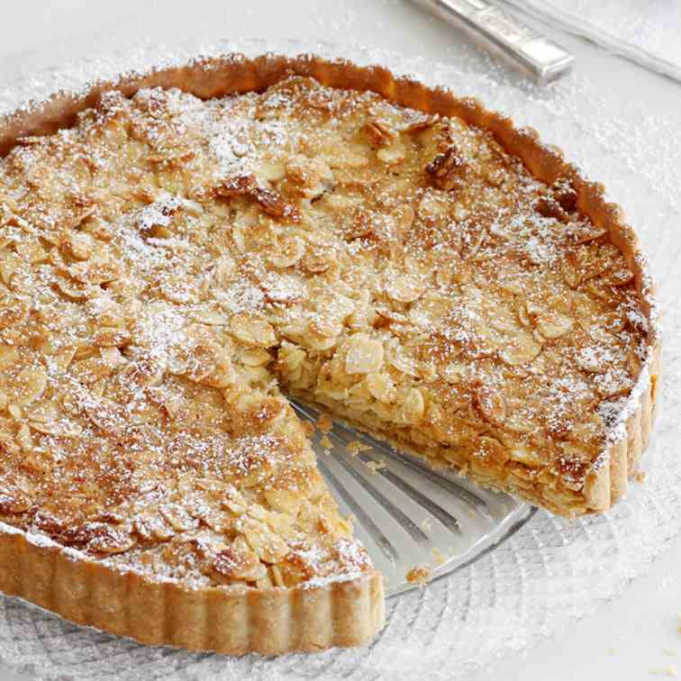 Almond, Coconut and Honey Pie