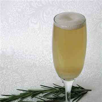 Rosemary-Infused Ginger Ale