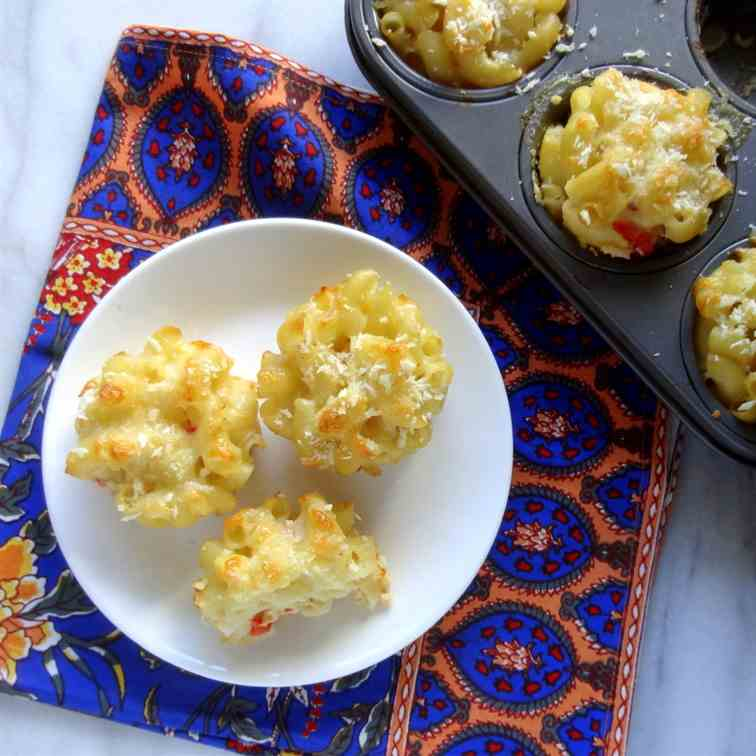 pepper jack macaroni cups