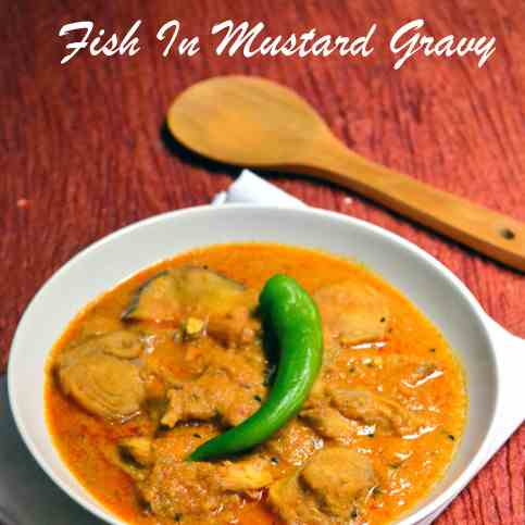 Fish Curry in Mustard Gravy