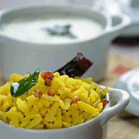 Lemon Poha recipe