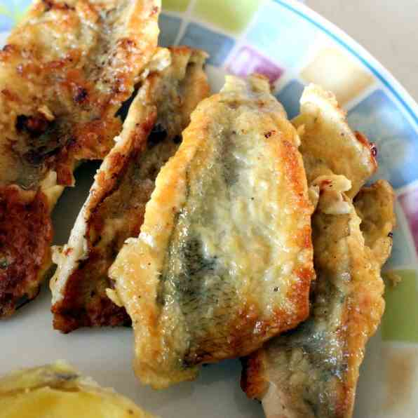 Perch Fillets fried in a batter