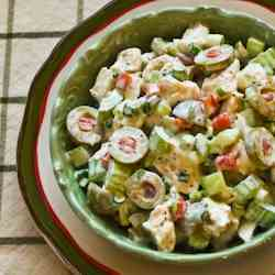 Chicken Salad with Green Olives