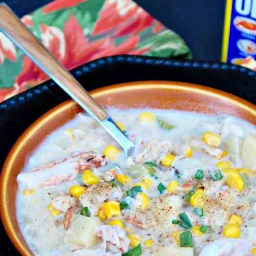30 Minute Crab Chowder