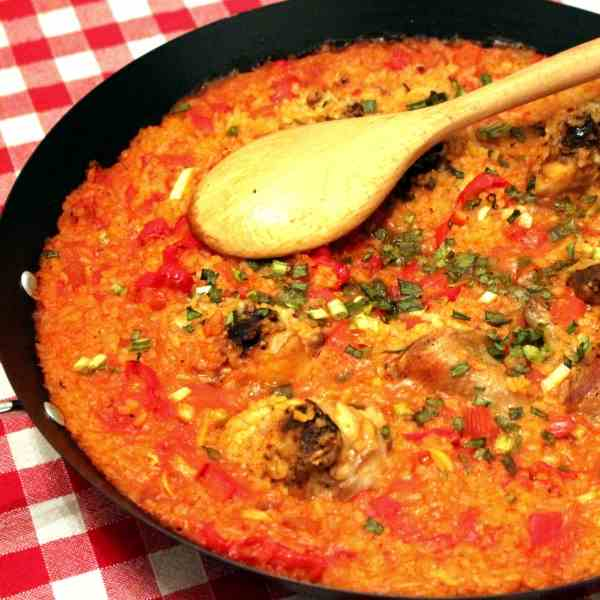 Simple Paella with CHicken