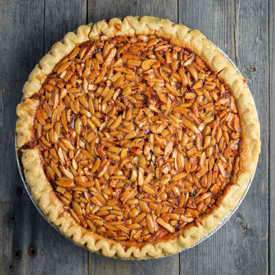 Almond Derby Pie