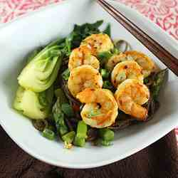 Spicy Curried Shrimp and Noodles