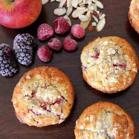 Fruit 'n Nut Muffins