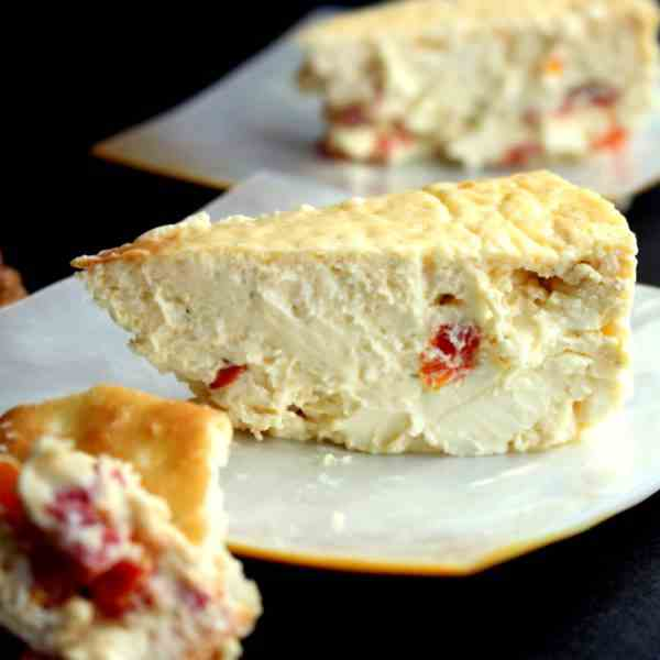 Savory Cheesecake from the Philippines